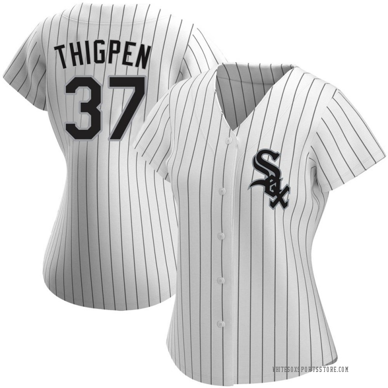 Women's Bobby Thigpen Chicago White Sox Authentic White Home Jersey