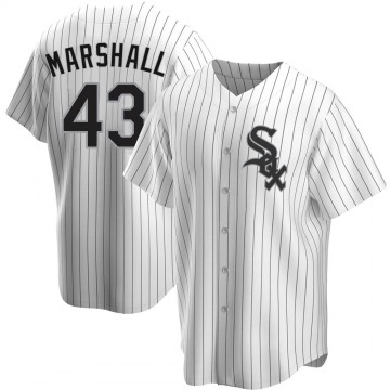 Youth Evan Marshall Chicago White Sox Replica White Home Jersey