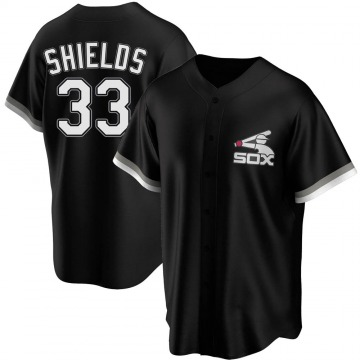 Youth James Shields Chicago White Sox Replica Black Spring Training Jersey