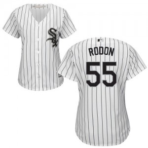 Women's Majestic Carlos Rodon Chicago White Sox Authentic White Home Cool Base Jersey